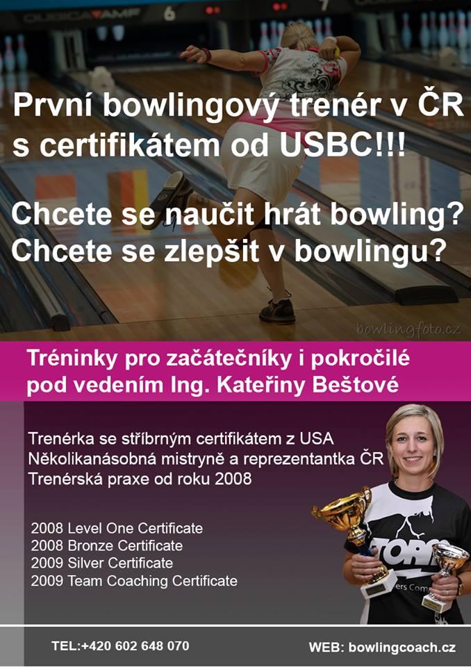 První bowlingový trenér v ČR s certifikátem od USBC